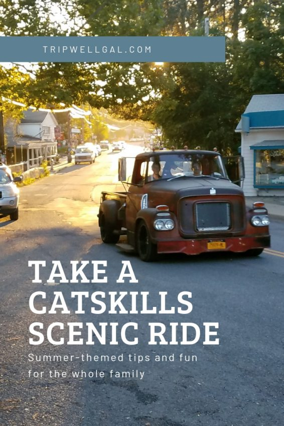 Take a scenic ride in the Catskills