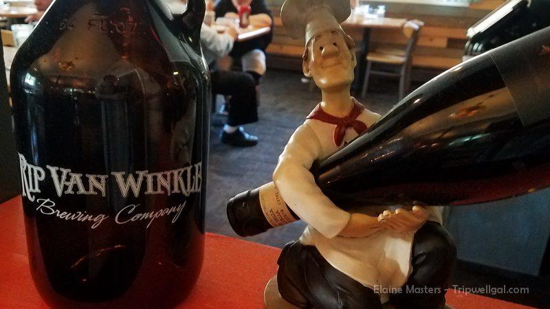 Inside the Rip Van Winkle Brewery Cafe