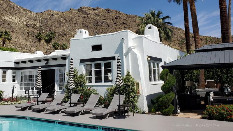 Gloria Swansons suite in the Amin Casa