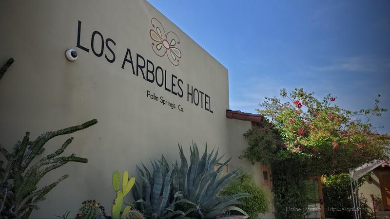 Entrance to Los Arboles Inn