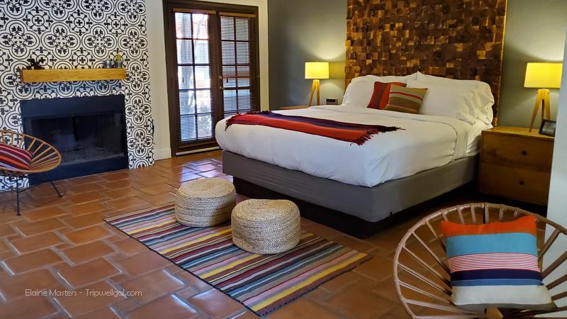 Bedroom suite in the Santiago Inn