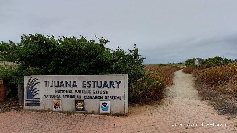 Entrance to the Tijuana Estuary National Wildlife Reserve
