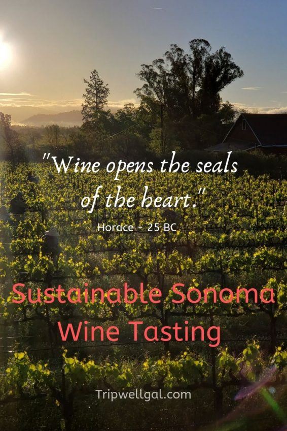 Wine opens the seals of the heart. Horace from 25BC Wine Quote