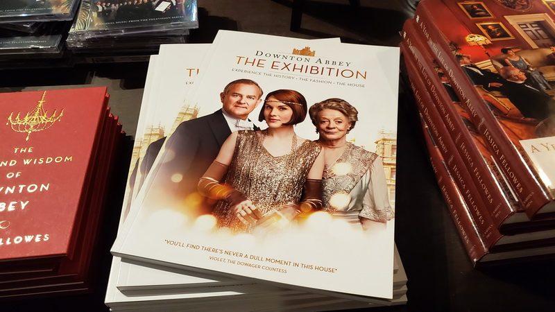 Brochure from the Downton Abbey exhibit in Boston.