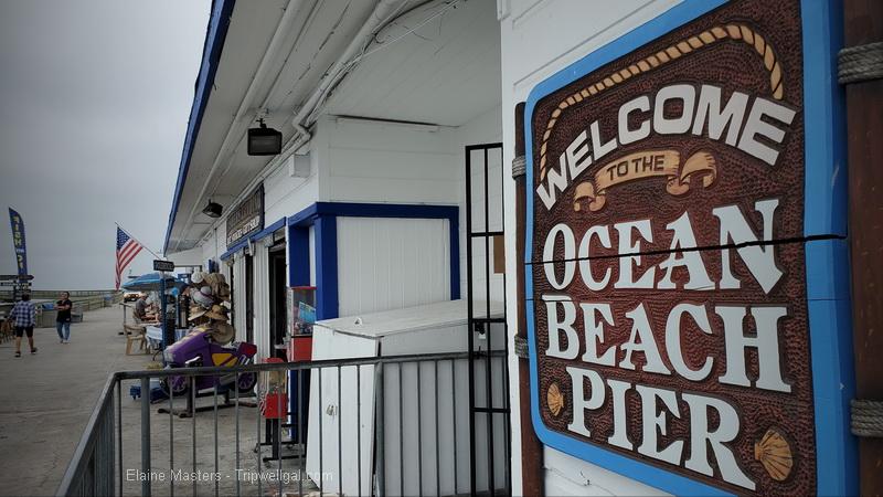 ocean view pier in ocean beach