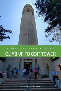 Climb to Coit Tower Pin 2