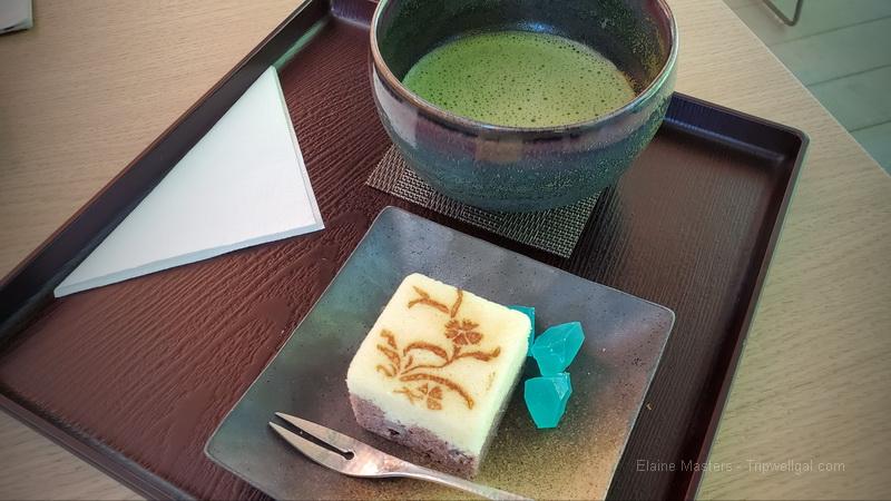 Inside the tea house with Matcha