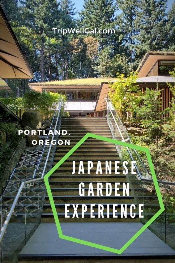Tea House stairs in Portland Oregon