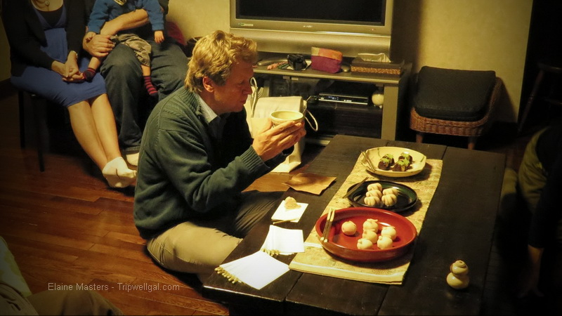 Experiencing a home tea ceremony