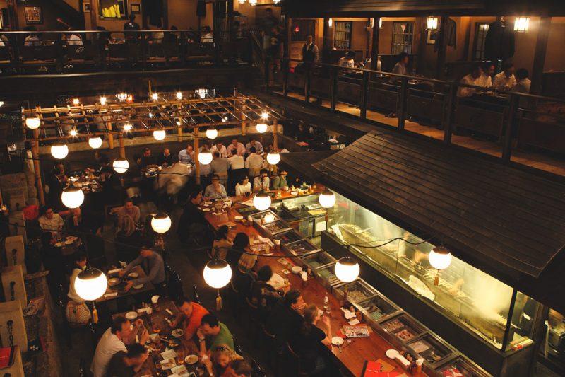 The restaurant used in the movie, Kill Bill