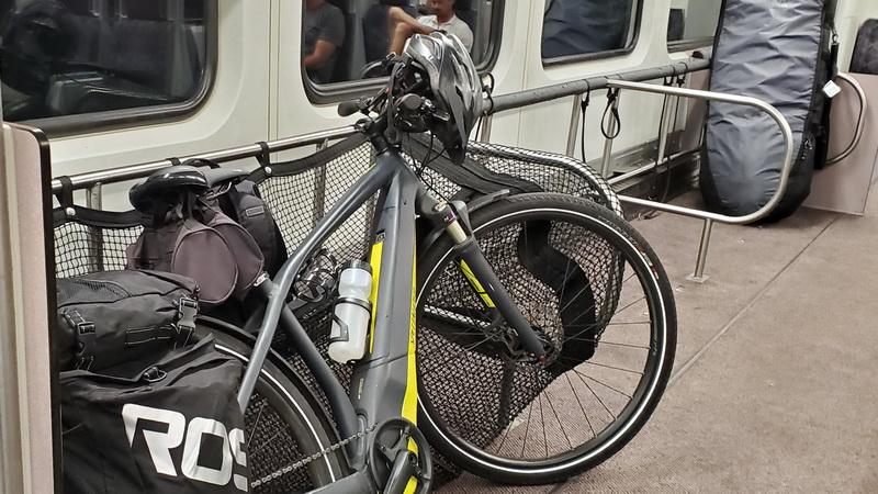 Bikes and surfboards welcomed onboard Metrolink