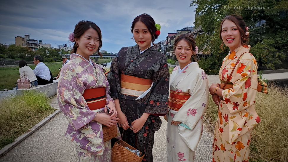Dress up as Geishas fun in Kyoto