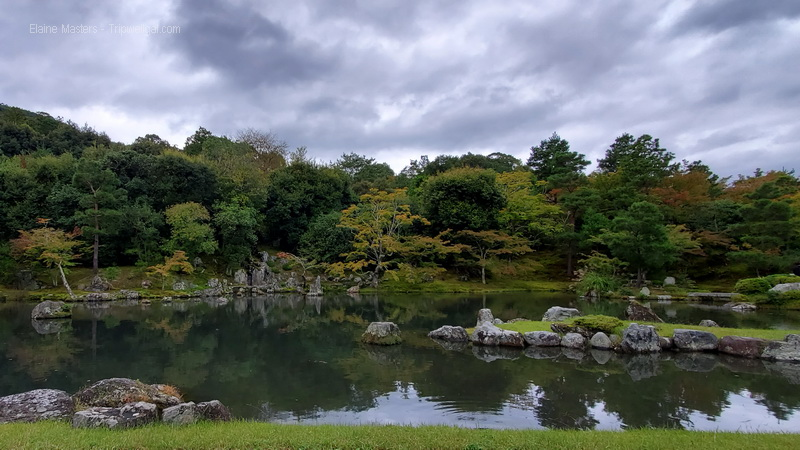 The masterful garden next to the Temple of Heavenly Dragons in Kyoto.