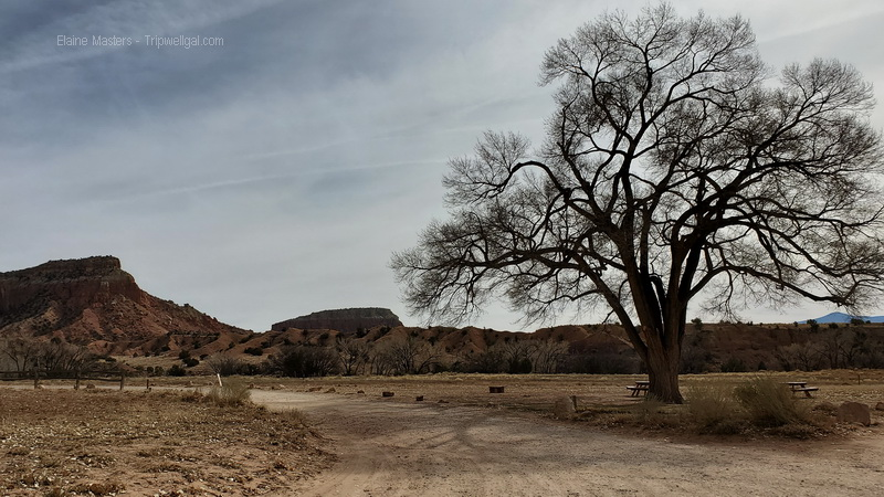 Orphan Mesa from the road at Ghost Ranch
