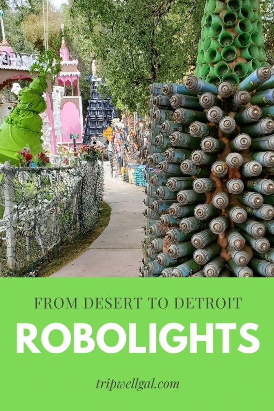 Robolights delights from desert to Detroit
