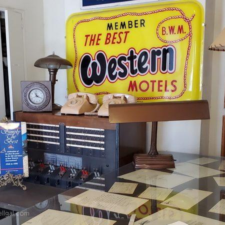 Coronado Historical Hotel original lobby in Yuma