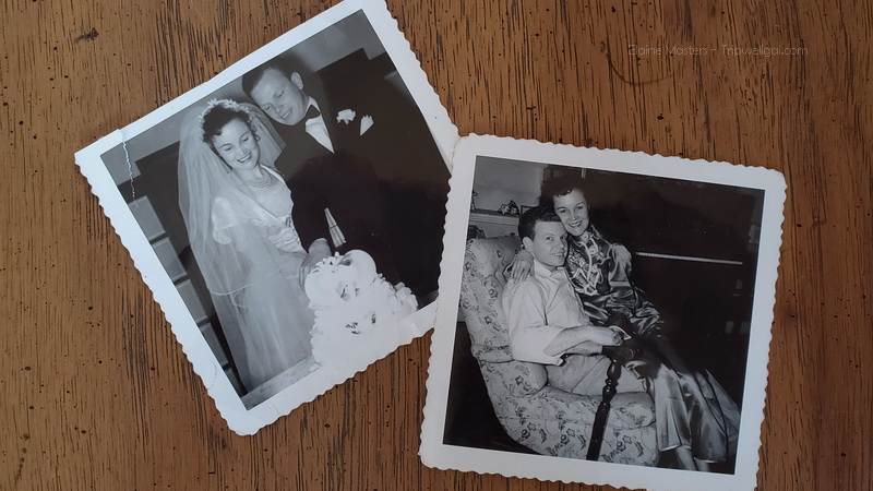Newly weds from the 1940's