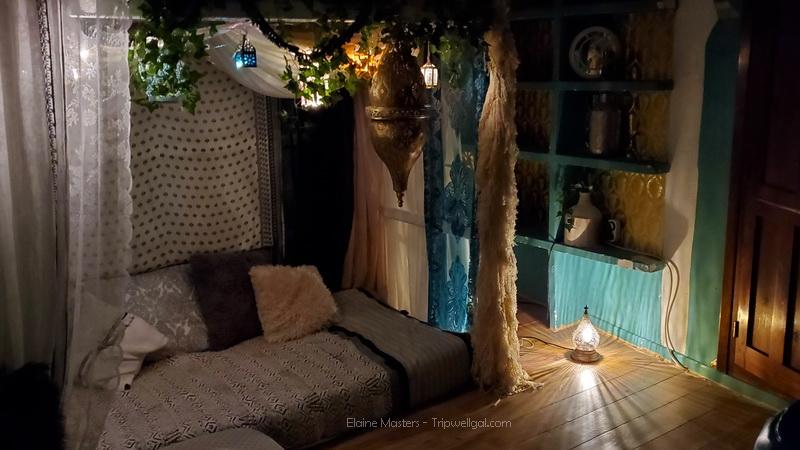 Romantic Albaycin Airbnb room in Granada Spain