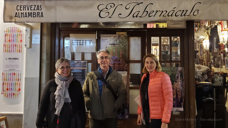 Parting ways at El Tabernaculo after our Sherpa Food Tour