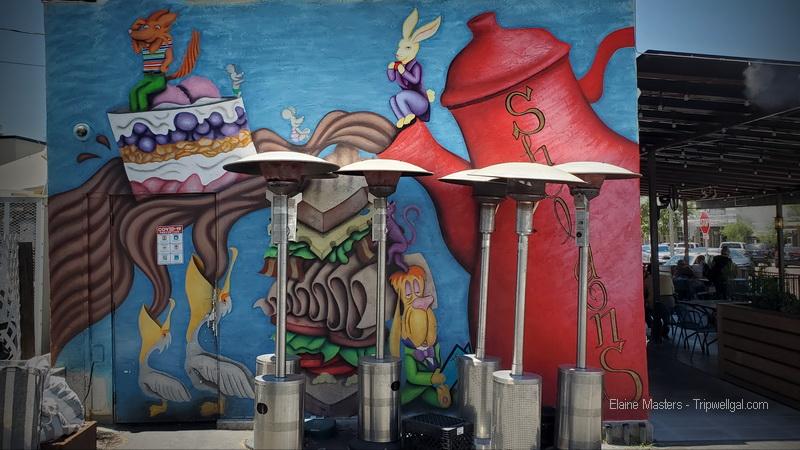 Sheldon's cafe in La Mesa Village