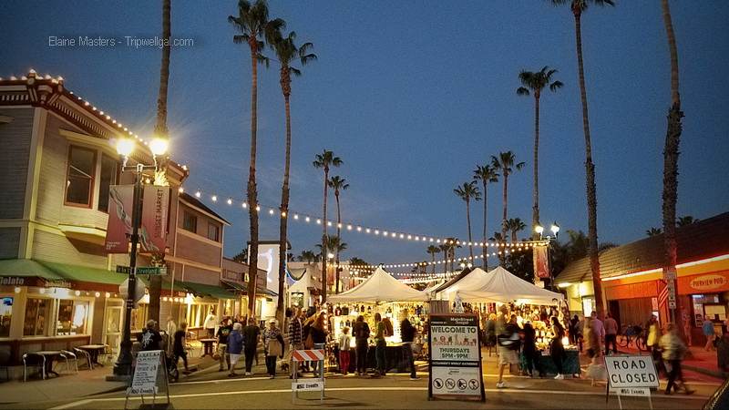 Find a local Farmers Market like the Thursday night ritual in Oceanside, California