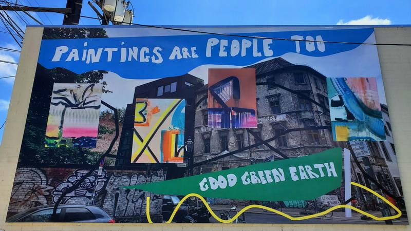 Monique van Genderen's painting is one of the hidden murals in La Jolla