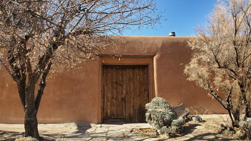Georgia's home at Abiqui, New Mexico