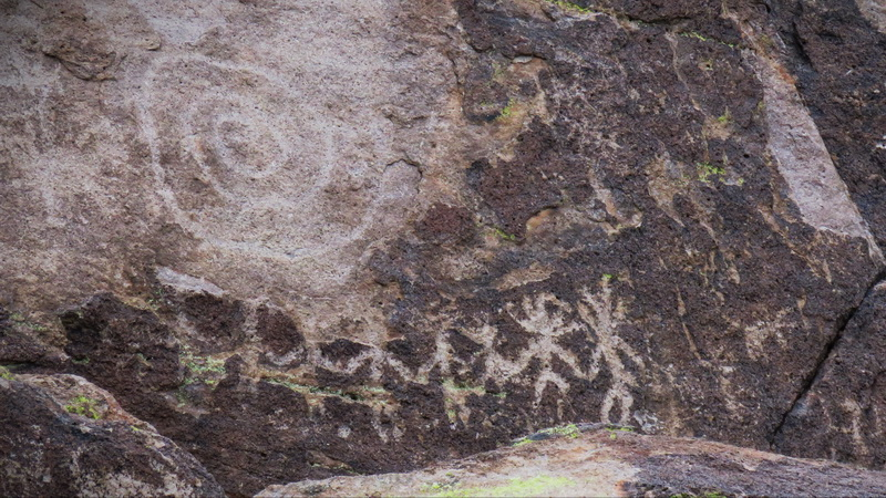Petroglyphs near Tuscon, Arizona