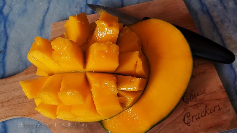 Melissa's exotic fruit basket Mangoes arrive