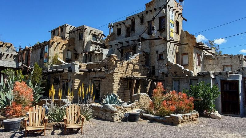 Courtyard at Cabots Pueblo Museum