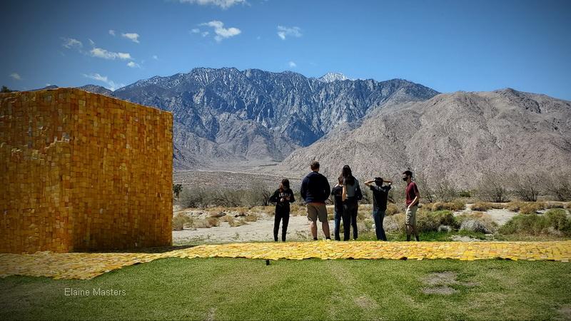 Wishing Well installation by Serge Attukewi Clottey for Desert X 21