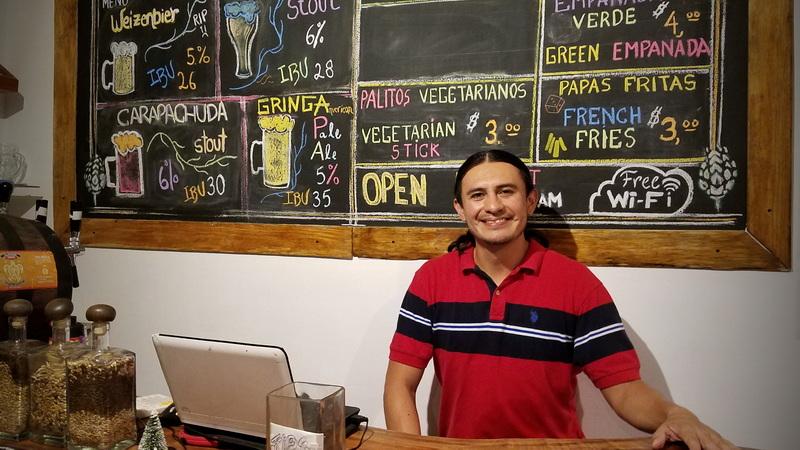 Santa Cruz Brewery Owner in Puerto Ayora