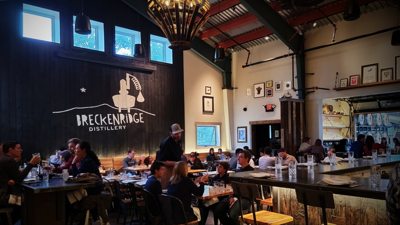 Breckenridge Distillery tours and tastingss are amazing with a full service dining room.